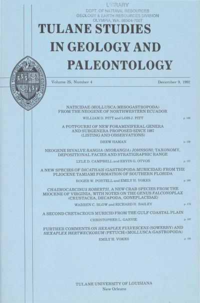 View Vol. 25 No. 4 (1992)