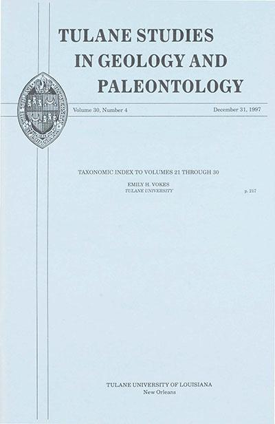 View Vol. 30 No. 4 (1997)