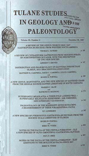 View Vol. 30 No. 3 (1997)