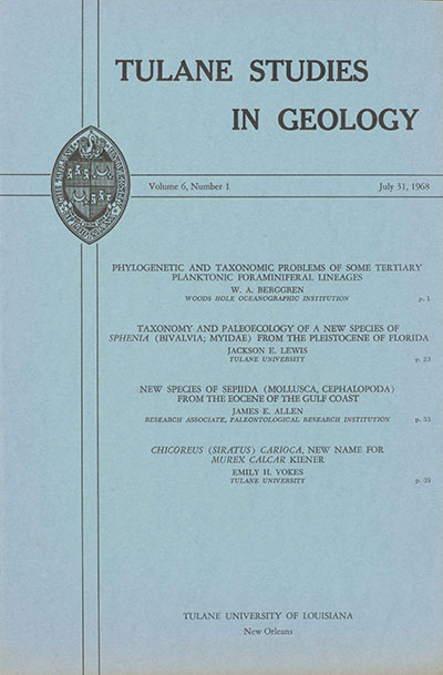 View Vol. 6 No. 1 (1968)