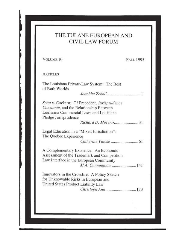 View Vol. 10 (1995)