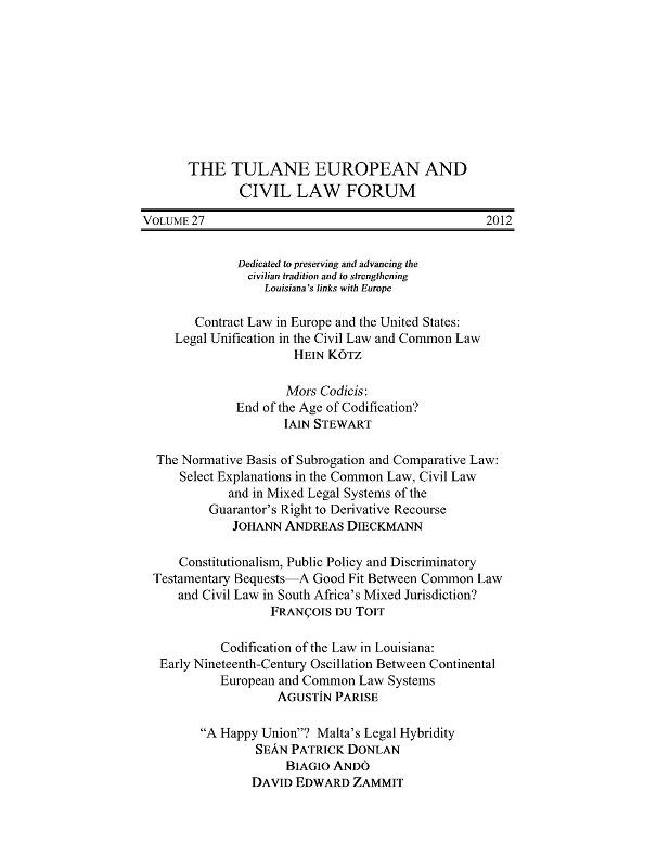 View Vol. 27 (2012)