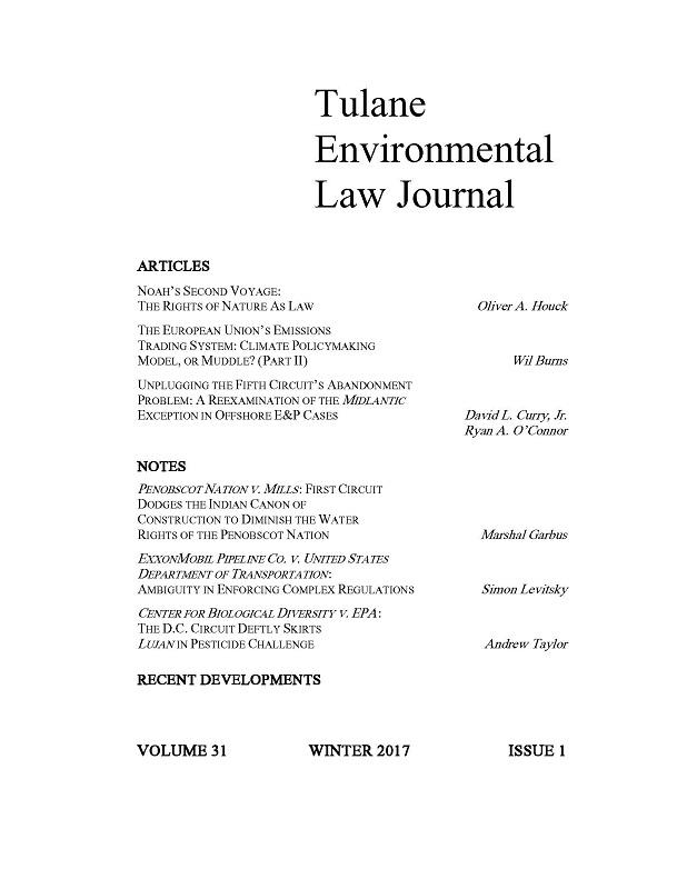 View Vol. 31 No. 1 (2017)