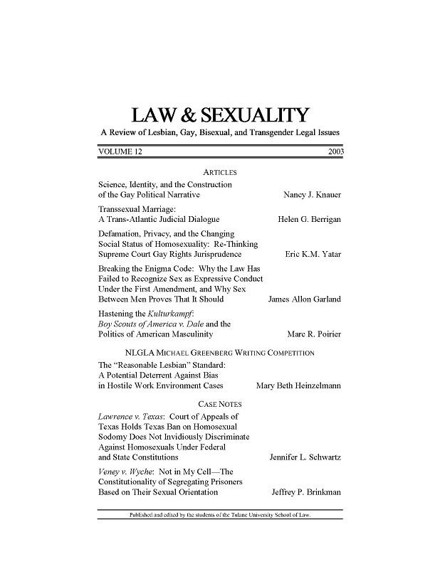 View Vol. 12 (2003)