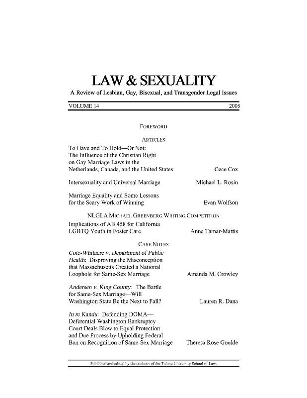 View Vol. 14 (2005)