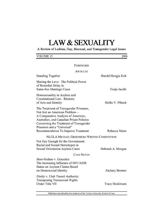View Vol. 15 (2006)
