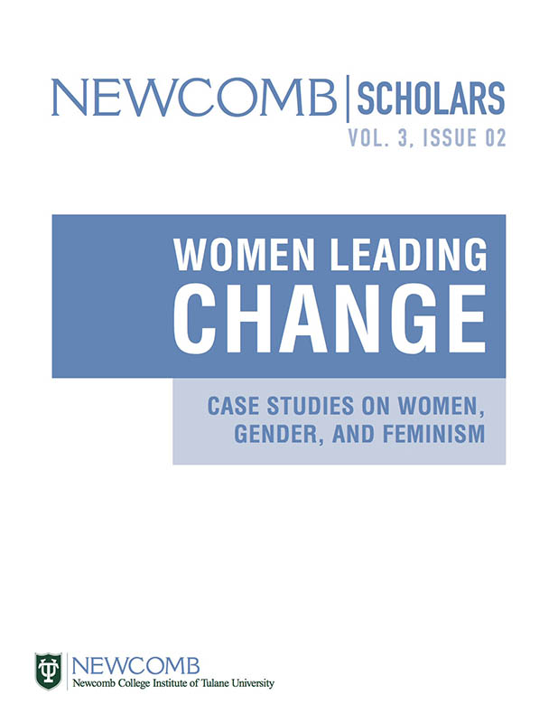 View Vol. 3 No. 2 (2018): Women Leading Change: Case Studies on Women, Gender, and Feminism