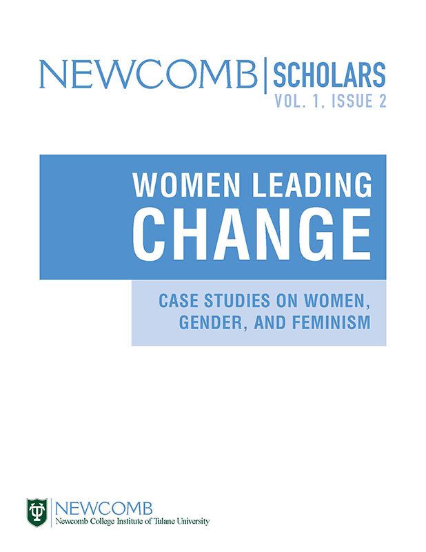 View Vol. 1 No. 2 (2016): Women Leading Change: Case Studies on Women, Gender, and Feminism