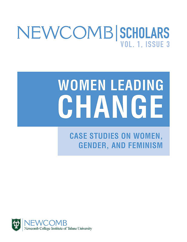 View Vol. 1 No. 3 (2017): Women Leading Change: Case Studies on Women, Gender, and Feminism