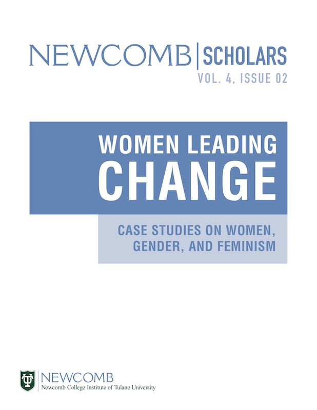 View Vol. 4 No. 2 (2019): Women Leading Change: Case Studies on Women, Gender, and Feminism